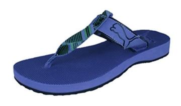 PUMA Criss Crosser T Strap Damen Sandalen/Flip Flops -Purple-38 - 1