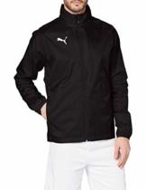 PUMA Herren LIGA Training Rain Jacket Core Black White, XL - 1