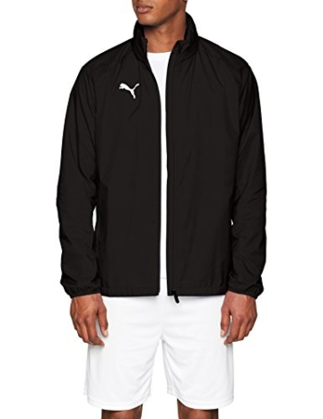 PUMA Herren LIGA Training Rain Jacket Core Black White, XL - 7