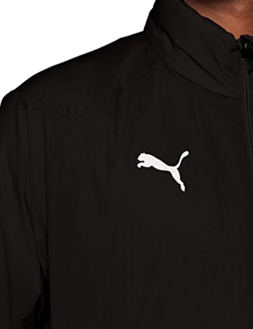 PUMA Herren LIGA Training Rain Jacket Core Black White, XL - 8