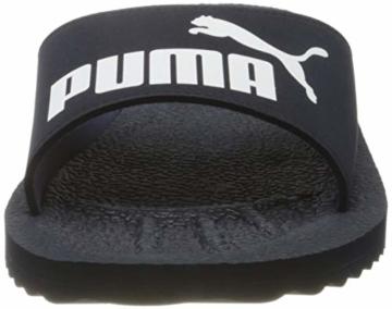 PUMA Unisex Adult Purecat Dusch- & Badeschuhe, peacoat-white, 43 EU - 4