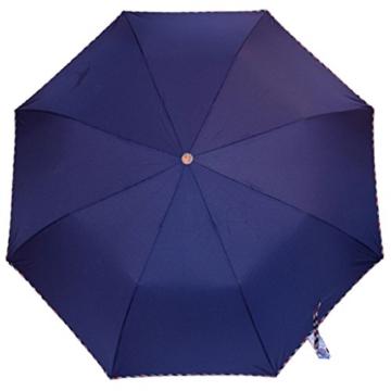 Regenschirm Sonnenschirm Vollautomatischer Faltschirm Doppelsonnenschirm zur Erhöhung des Anti-UV-Regenschirms a - 2