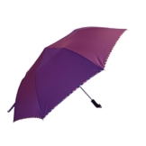 Regenschirm Sonnenschirm Vollautomatischer Faltschirm Doppelsonnenschirm zur Erhöhung des Anti-UV-Regenschirms a - 1