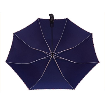 Regenschirm Sonnenschirm Vollautomatischer Faltschirm Doppelsonnenschirm zur Erhöhung des Anti-UV-Regenschirms a - 3