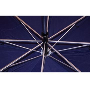 Regenschirm Sonnenschirm Vollautomatischer Faltschirm Doppelsonnenschirm zur Erhöhung des Anti-UV-Regenschirms a - 7