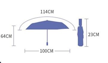 Regenschirm Sonnenschutz UV Regenschirme Frische Sonne Regenschirm Frauen Faltbarer Doppelsonnenschirm a - 2