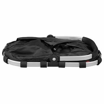 Reisenthel carrybag XS dots Einkaufskorb Picknickkorb Henkelkorb 5 Liter schwarz mit Punkten - Größe beachten ! - 4