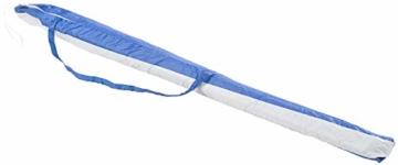 Royal Gardineer Strandschirm: 2-teiliger Sonnenschirm mit Sonnenschutz UV30+ und Tasche, Ø 160 cm (Sonnenschirm Strand) - 6