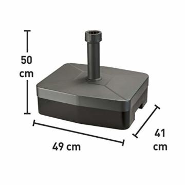 Schirmständer Lucena Anthrazit 40 kg - 2