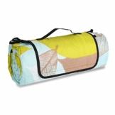 Sekey 200 x 200cm Picknickdecke wasserdicht, Camping Decke Picknickdecke mit tragbarem Griff, Waschbare Picknickdecke für Outdoor - 1