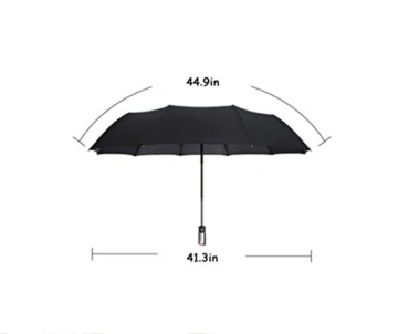 Sonnenschirm Von ZAIYI Vollautomatischer Regenschirm-Klappmechanismus Doppel-Dreifach-Windschutz Wetterschutz Doppel-Sonnenschirm,C - 2
