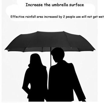 Sonnenschirm Von ZAIYI Vollautomatischer Regenschirm-Klappmechanismus Doppel-Dreifach-Windschutz Wetterschutz Doppel-Sonnenschirm,C - 3