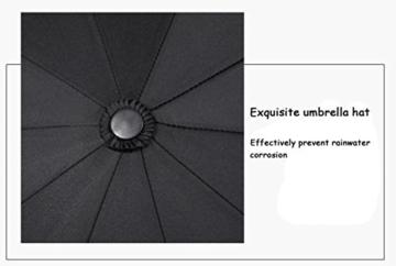 Sonnenschirm Von ZAIYI Vollautomatischer Regenschirm-Klappmechanismus Doppel-Dreifach-Windschutz Wetterschutz Doppel-Sonnenschirm,C - 4