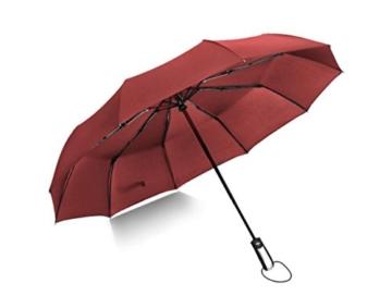 Sonnenschirm Von ZAIYI Vollautomatischer Regenschirm-Klappmechanismus Doppel-Dreifach-Windschutz Wetterschutz Doppel-Sonnenschirm,C - 1