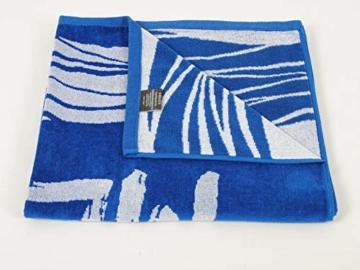 Strandtuch, Badetuch 170 x 90 Frottee-Velour Liegetuch Strandtuch Trockentuch (Blau - Ich Will Meer) - 3