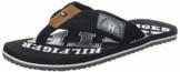 Tommy Hilfiger Herren ESSENTIAL TH BEACH SANDAL Zehentrenner, Schwarz (Black 990), 42 EU - 1