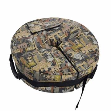 unknow Außenterrasse Offset Cantilever Regenschirme Regenschirm Gewicht Tasche Wetterfeste Sonnenschirm Regenschirm Schwere Sandsäcke Standfuß - 1
