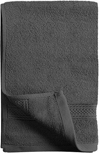 Utopia Towels - Handtücher Set aus Baumwolle 600 GSM - 100% Baumwolle, 41 x 71 cm - 6er Pack (Grau) - 6
