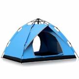 Vlook Wasserdichtes Campingzelt, hydraulische Regenschutzzelte, einlagige Doppeltürstruktur, komfortabel und atmungsaktiv, für Strandcamping - 1