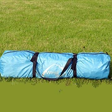 Vlook Wasserdichtes Campingzelt, hydraulische Regenschutzzelte, einlagige Doppeltürstruktur, komfortabel und atmungsaktiv, für Strandcamping - 5