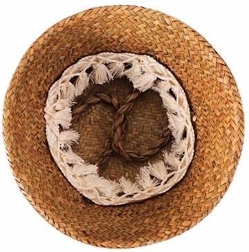 Yesland 3 Stück Boho Woven Seagrass Belly Basket Natürliche Lagerpflanze Korb Spielzeugkorb Lebensmittelkorb Pflanzentopf Wäsche & Picknickkorb für Wohnzimmer - 3 Größen - 5