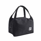 Allegorly Kühltasche Klein Leicht Lunch Tasche Isoliertasche Faltbar Wasserdicht Reißverschluss Lunchtasche klein Isoliertasche Lunchbag Thermotasche für Arbeit Schule und unterwegs - 1