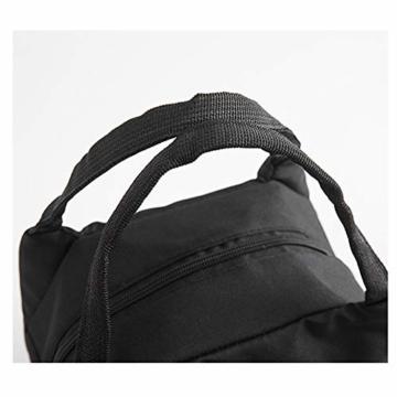 Allegorly Kühltasche Klein Leicht Lunch Tasche Isoliertasche Faltbar Wasserdicht Reißverschluss Lunchtasche klein Isoliertasche Lunchbag Thermotasche für Arbeit Schule und unterwegs - 4