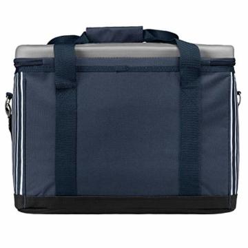 anndora Kühltasche XL blau weiß gestreift 40 L - Kühlbox Isoliertasche Picknicktasche - 3