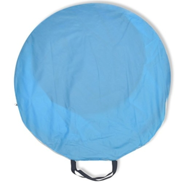 Anself Strandmuscheln Pop Up Strandzelt Zelt UV Schutz 30 mit Boden für 2 Personen 3 Farbe Optional - 2