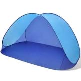 Anself Strandmuscheln Pop Up Strandzelt Zelt UV Schutz 30 mit Boden für 2 Personen 3 Farbe Optional - 1