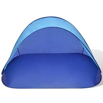 Anself Strandmuscheln Pop Up Strandzelt Zelt UV Schutz 30 mit Boden für 2 Personen 3 Farbe Optional - 3