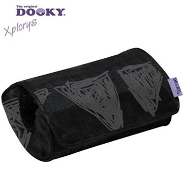 DOOKY Armpolster/Griffpolster ** XL-Polster gegen schmerzhaftes Einschneiden ** Für Maxi Cosi, Römer etc. ** (Black Tribal) - 2
