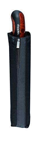doppler Taschenschirm Carbon Magic XM Business – Übergroßes Schirmdach – Elegant – Schwarz - 4