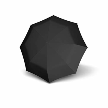 doppler Taschenschirm Carbon Magic XM Business – Übergroßes Schirmdach – Elegant – Schwarz - 1