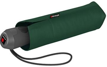 Knirps Mini Taschenschirm E.100 Auf-Zu-Automatik - Dark Green - 1
