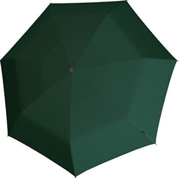 Knirps Mini Taschenschirm E.100 Auf-Zu-Automatik - Dark Green - 2