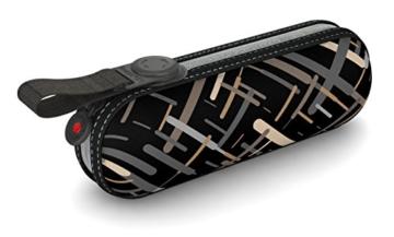 Knirps X1 Taschenschirm - Elektra Neutral - inkl. Eva-Hardcase im Schirmdesign - 100% Polyester - Hochqualitative Verarbeitung - Windkanal getestet - Manual, klein, kompakt, leicht u. zuverlässig - 1