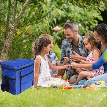 Kühltasche Mini,Kühltasche Klein mit Kühlakku,Thermotasche Faltbar,Kühltasche Klein Faltbar,Lunchtasche Kühltasche Klein,Kühltasche Klein - 4