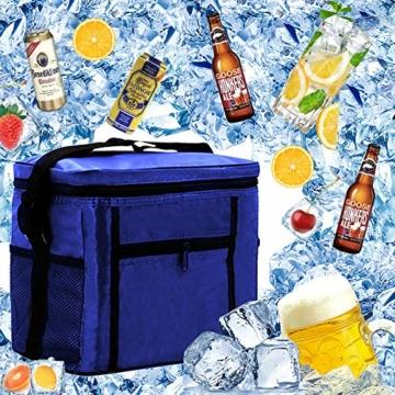 Kühltasche Mini,Kühltasche Klein mit Kühlakku,Thermotasche Faltbar,Kühltasche Klein Faltbar,Lunchtasche Kühltasche Klein,Kühltasche Klein - 1