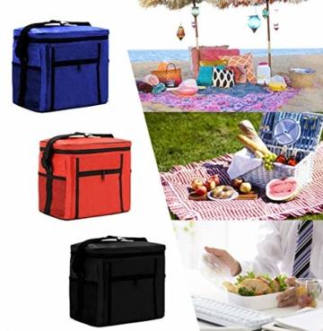 Kühltasche Mini,Kühltasche Klein mit Kühlakku,Thermotasche Faltbar,Kühltasche Klein Faltbar,Lunchtasche Kühltasche Klein,Kühltasche Klein - 6