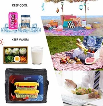 Kühltasche Mini,Kühltasche Klein mit Kühlakku,Thermotasche Faltbar,Kühltasche Klein Faltbar,Lunchtasche Kühltasche Klein,Kühltasche Klein - 7