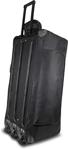 normani XXXL -Trolley - Jumbo Travel Reisetasche - Riesen Volumen Farbe Schwarz / 150 Liter - 4