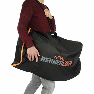 RENNER XXL 120L Große Universal Aufbewahrungs-Tasche für Bettzeug - Reisetasche Groß - 5