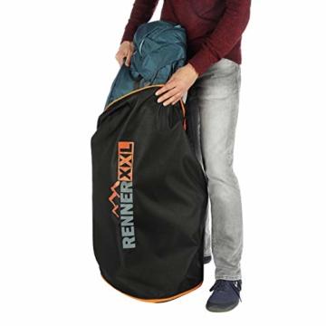 RENNER XXL 120L Große Universal Aufbewahrungs-Tasche für Bettzeug - Reisetasche Groß - 6