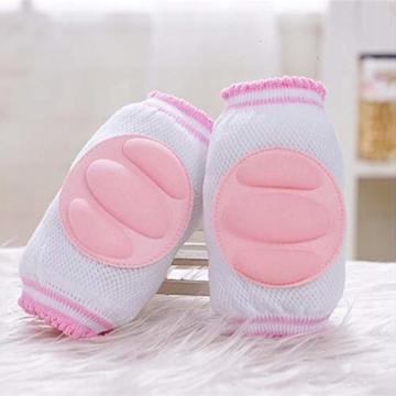 Vektenxi Knieschützer Ellbogenschützer Krabbelpolster Armpolster Unisex Knieschützer Krabbeln Schutzfolie für Kleinkind Baby Pink - 2