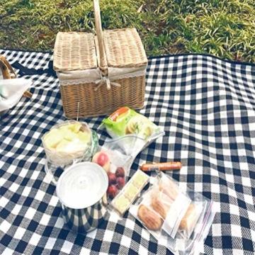 Yoveme Faltbare Picknickdecke wasserdichte Unterlage Camping Outdoor Beach Festival Teppichmatte - 2