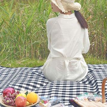 Yoveme Faltbare Picknickdecke wasserdichte Unterlage Camping Outdoor Beach Festival Teppichmatte - 5