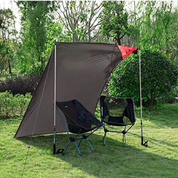 ZRK 2 Mt Picknickdecke Strand Große Outdoor Teppich Matte Wasserdicht Faltbare Camping Tote Licht Kompakte Übergroße Teppich für Reise Camping Wandern - 7