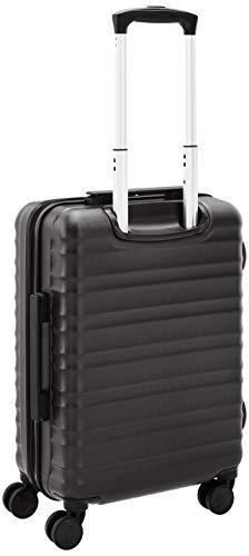Amazon Basics - Hartschalen-Trolley mit Schwenkrollen - 55cm Handgepäck-Größe, für Ryanair und die meisten anderen Billigfluglinien genehmigt - 8
