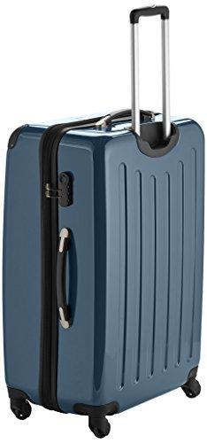 HAUPTSTADTKOFFER - Alex - Hartschalen-Koffer Koffer Trolley Rollkoffer Reisekoffer Erweiterbar, 4 Rollen, 75 cm, 119 Liter, Waldgrün - 3